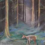 sarna leśmian wiersz ilustracja