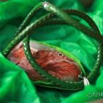 naszyjnik z wiewiórką