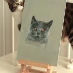 portret kota brytyjskiego