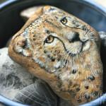 portret geparda