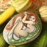 ręcznie malowany elf
