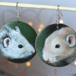 biżuteria ze szczurmami